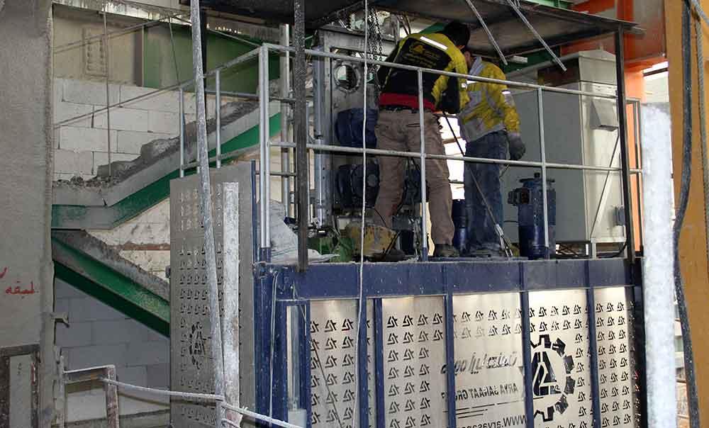 مزایای آسانسورهای کارگاهی