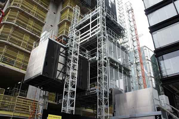 آسانسور کارگاهی و صنعت