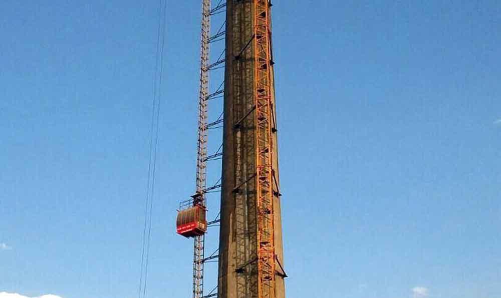 بالابرهای کارگاهی در سازه های عظیم